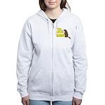 Lebowski: Nice Marmot! Women's Zip Hoodie