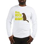 Lebowski: Nice Marmot! Long Sleeve T-Shirt