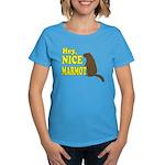 Lebowski: Nice Marmot! Women's Dark T-Shirt