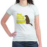 Lebowski: Nice Marmot! Jr. Ringer T-Shirt
