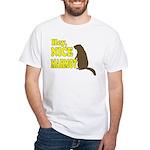 Lebowski: Nice Marmot! White T-Shirt