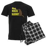 Lebowski: Nice Marmot! Men's Dark Pajamas