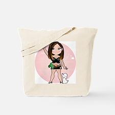 Dainty Hairstylist Tote Bag