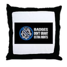 Unique Grant Throw Pillow