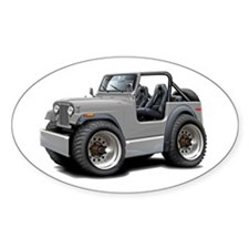 Jeep Silver Decal