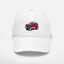 Jeep Red Baseball Baseball Cap