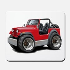 Jeep Red Mousepad