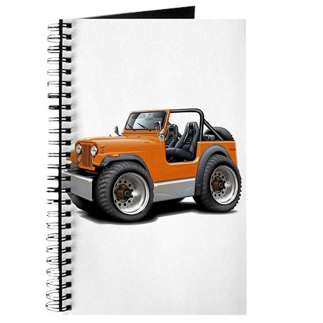 Jeep Orange Journal