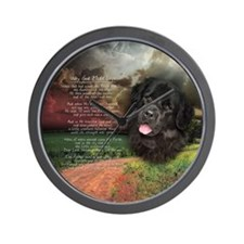 """Why God Made Dogs"" Newfoundland Wall Clock"
