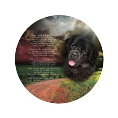 """Why God Made Dogs"" Newfoundland 3.5"" Button (100"