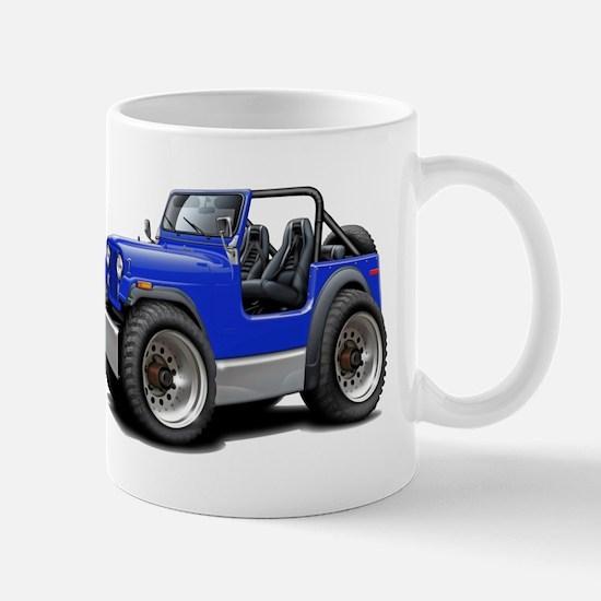 Jeep Blue Mug