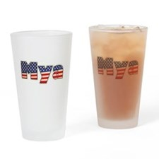 American Mya Drinking Glass