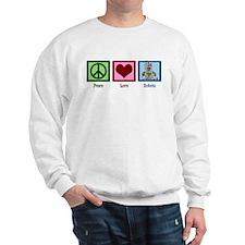 Peace Love Robots Sweatshirt