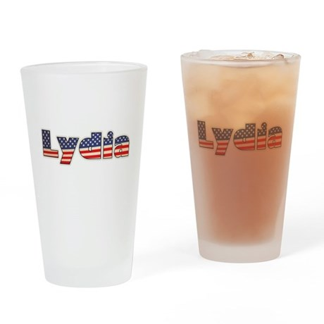 American Lydia Drinking Glass