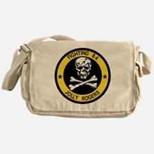 VF-84 Jolly Rogers Messenger Bag