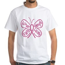 Breast Cancer Butterfly Hope Shirt