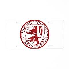 SHMS Logo Aluminum License Plate