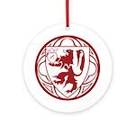 SHMS Logo Ornament (Round)