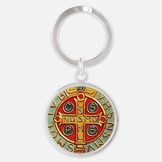 Medal of Saint Benedict Keychains