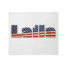 American Laila Throw Blanket