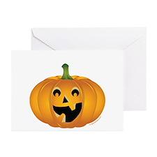 Happy Halloween pumpkin Greeting Cards (Pk of 10)