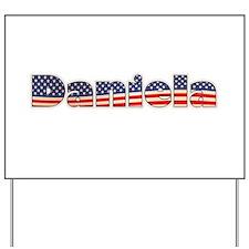 American Daniela Yard Sign