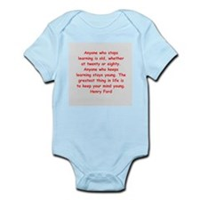 Henry Ford quotes Infant Bodysuit