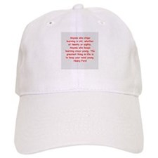 Henry Ford quotes Baseball Cap