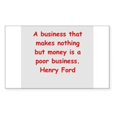 Henry Ford quotes Decal
