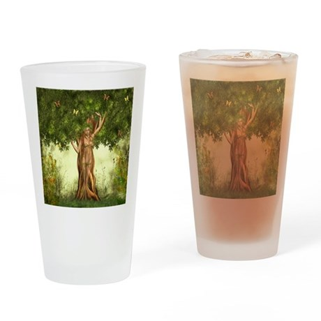 Mother Earth Drinking Glass