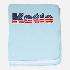American Katie baby blanket