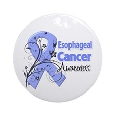Esophageal Cancer Awareness Ornament (Round)