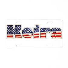 American Keira Aluminum License Plate