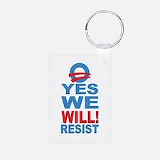 Resist Obama Keychains