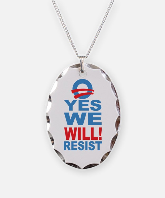 Resist Obama Necklace