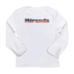 American Miranda Long Sleeve Infant T-Shirt