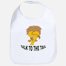 Talk To The Tail Lion Bib