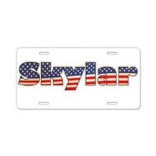 American Skylar Aluminum License Plate