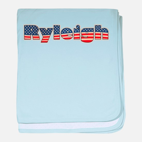 American Ryleigh baby blanket