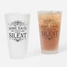 Voices Are Silent (Martini) Drinking Glass