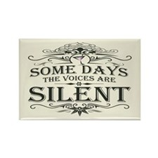 Voices Are Silent (Martini) Rectangle Magnet