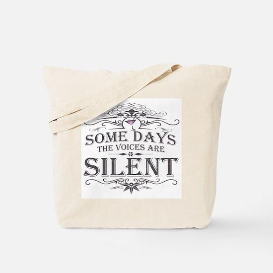 Voices Are Silent (Martini) Tote Bag