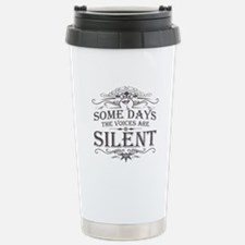 Voices Are Silent (Martini) Travel Mug