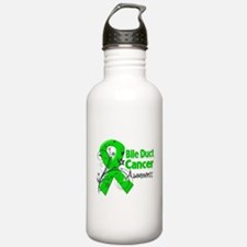 Bile Duct Cancer Awareness Water Bottle