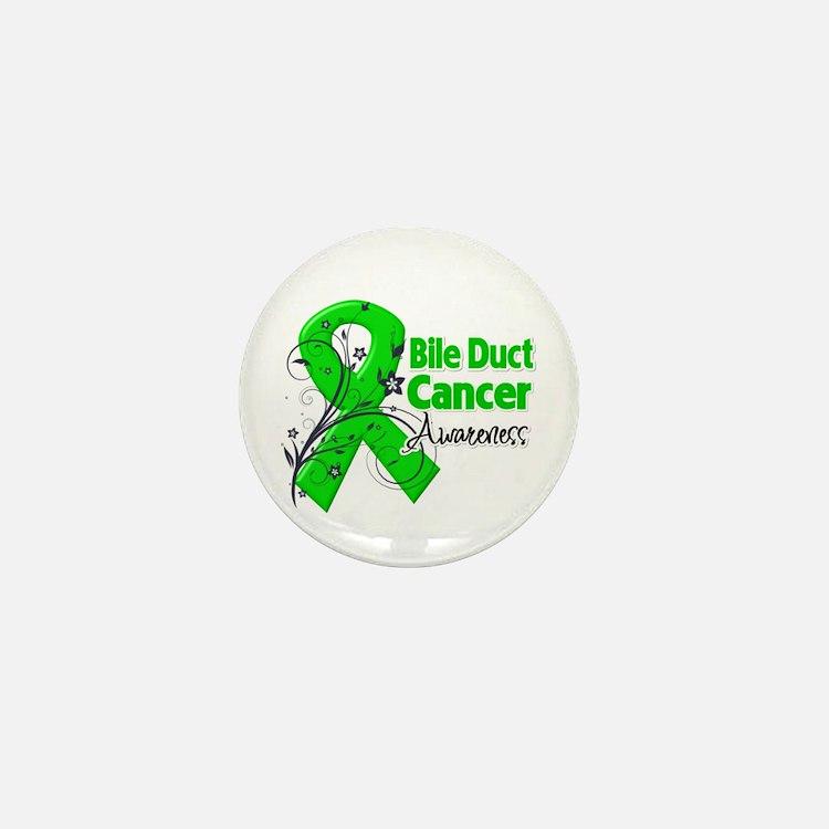 Bile Duct Cancer Awareness Mini Button