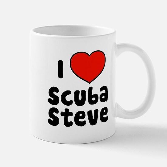 I Love Scuba Steve Mug