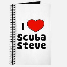 I Love Scuba Steve Journal