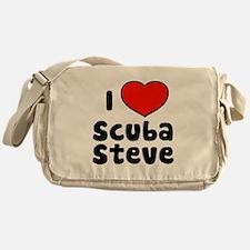 I Love Scuba Steve Messenger Bag