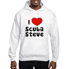 I Love Scuba Steve Hoodie