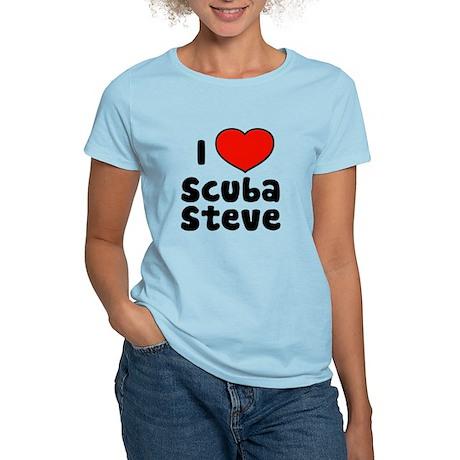 I Love Scuba Steve Women's Light T-Shirt